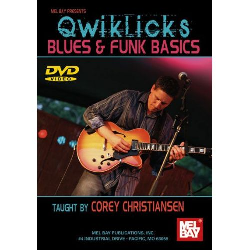 MEL BAY CHRISTIANSEN CORY - QWIKLICKS BLUES AND FUNK BASICS - GUITAR