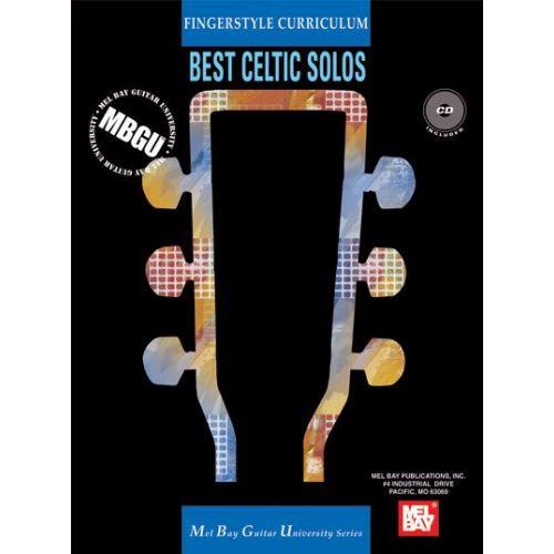 MEL BAY GANGEL WILLIAM - FINGERSTYLE CURRICULUM: BEST CELTIC SOLOS + CD - GUITAR