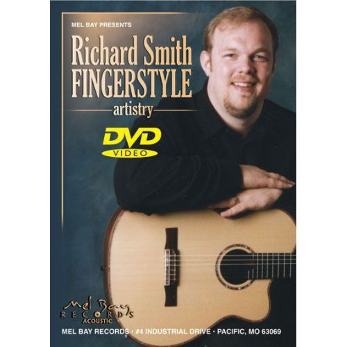 MEL BAY SMITH RICHARD - RICHARD SMITH: FINGERSTYLE ARTISTRY - GUITAR
