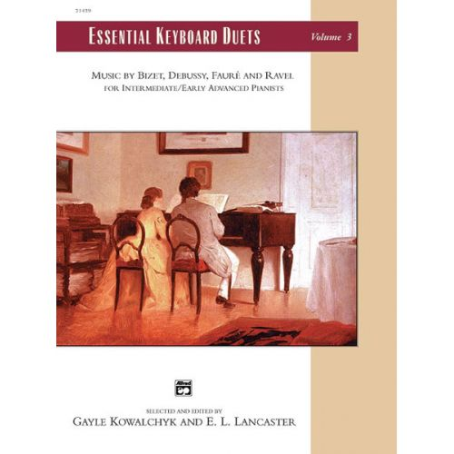 ALFRED PUBLISHING KOWALCHYK AND LANCASTER - ESSENTIAL KEYBOARD DUETS VOL 3 - PIANO DUET