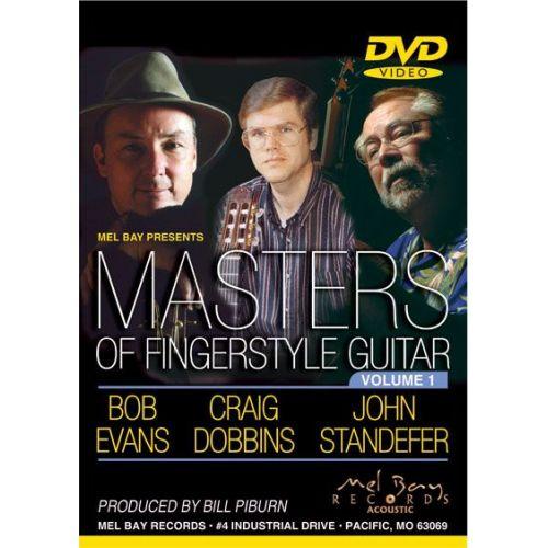 MEL BAY DOBBINS CRAIG - MASTERS OF FINGERSTYLE GUITAR, VOLUME 1 - GUITAR