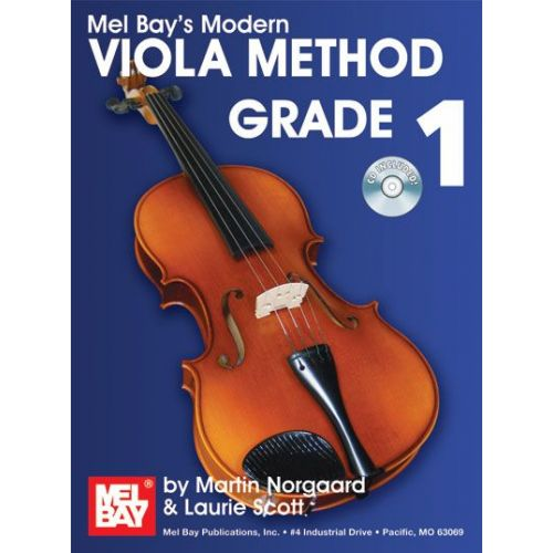MEL BAY NORGAARD MARTIN - MODERN VIOLA METHOD GRADE 1 + CD - VIOLA