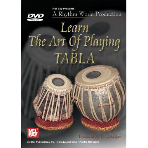 MEL BAY KALYAN TARSEM - LEARN THE ART OF PLAYING TABLA - PERCUSSION