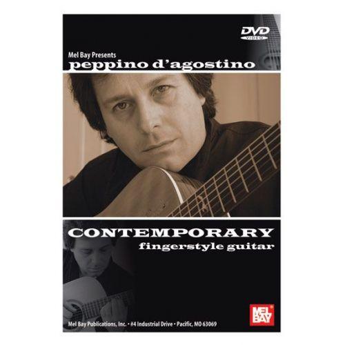 MEL BAY D'AGOSTINO PEPPINO - PEPPINO D'AGOSTINO: CONTEMPORARY FINGERSTYLE GUITAR - GUITAR
