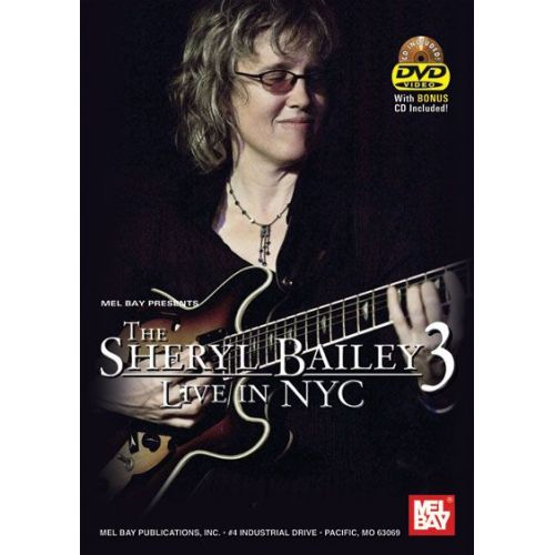 MEL BAY BAILEY SHERYL - LIVE IN NYC - GUITAR