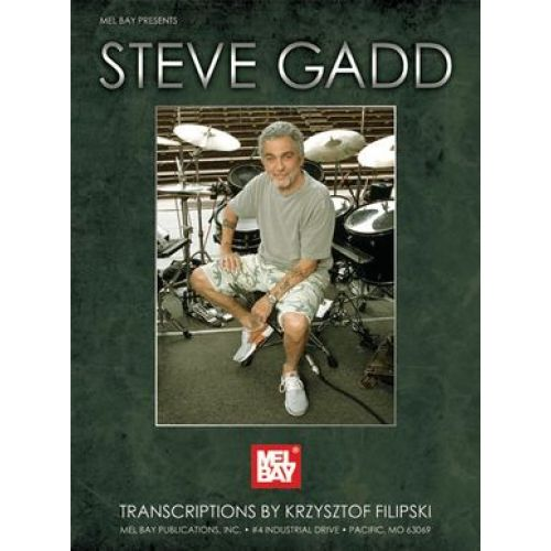 MEL BAY GADD STEVE - DRUMMING TRANSCRIPTIONS - DRUMS
