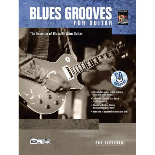ALFRED PUBLISHING FLETCHER BOB - BLUES GROOVES FOR GUITAR + CD - GUITAR