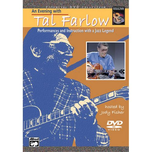 ALFRED PUBLISHING FARLOW TAL - AN EVENING WITH TAL FARLOW + DVD - GUITAR