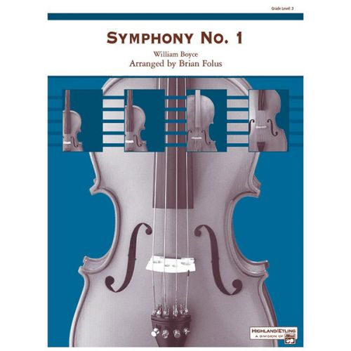 ALFRED PUBLISHING BOYCE WILLIAM - SYMPHONY NO1 - STRING ORCHESTRA