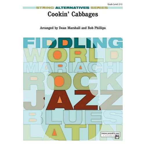 ALFRED PUBLISHING MARSHALL D. - COOKIN' CABBAGES - STRING ORCHESTRA