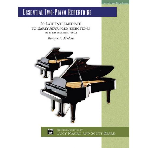 ALFRED PUBLISHING MAURO AND BEARD - ESSENTIAL TWO-PIANO REPERTOIRE - PIANO DUET