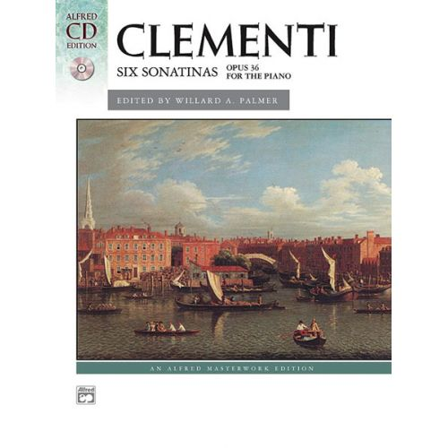 ALFRED PUBLISHING CLEMENTI MUZIO - SIX SONATINAS + CD - PIANO SOLO