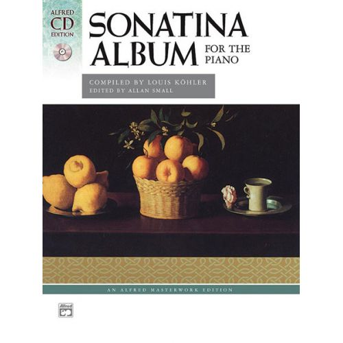 ALFRED PUBLISHING SONATINA ALBUM + CD - PIANO SOLO