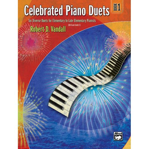 ALFRED PUBLISHING VANDALL ROBERT D. - CELEBRATED PIANO DUETS BOOK 1 - PIANO DUET