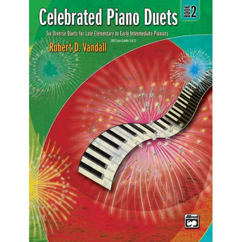 ALFRED PUBLISHING VANDALL ROBERT D. - CELEBRATED PIANO DUETS - BOOK 2 - PIANO DUET