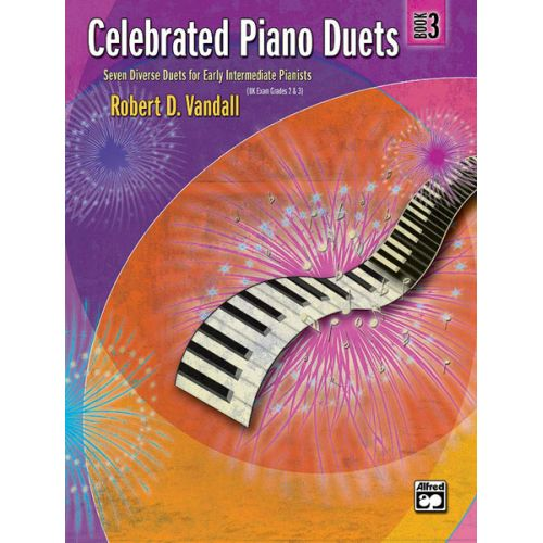 ALFRED PUBLISHING VANDALL ROBERT D. - CELEBRATED PIANO DUETS - BOOK 3 - PIANO DUET
