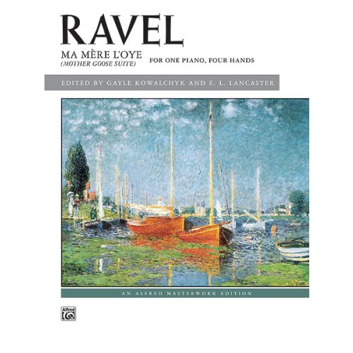 ALFRED PUBLISHING RAVEL MAURICE - MA MERE L'OYE - PIANO DUET