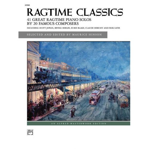 ALFRED PUBLISHING HINSON MAURICE - RAGTIME CLASSICS - PIANO SOLO