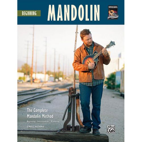 ALFRED PUBLISHING HORNE GREG - BEGINNING MANDOLIN + CD - MANDOLIN