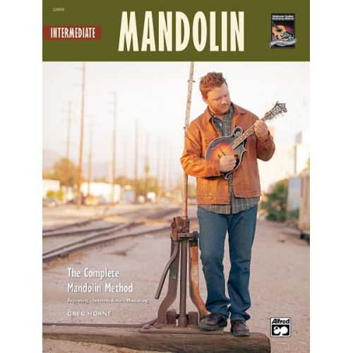 ALFRED PUBLISHING HORNE GREG - INTERMEDIATE MANDOLIN + CD - MANDOLIN