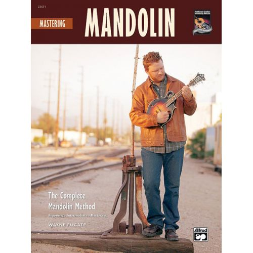 ALFRED PUBLISHING HORNE GREG - MASTERING MANDOLIN + CD - MANDOLIN