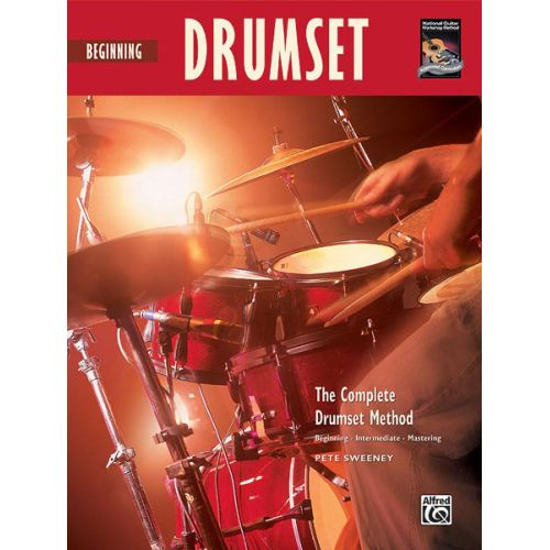 ALFRED PUBLISHING SWEENEY PETE - BEGINNING DRUMSET + CD - DRUM