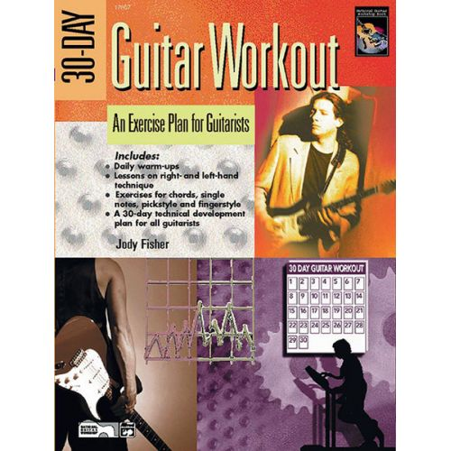 ALFRED PUBLISHING FISHER JODY - 30-DAY GUITAR WORKOUT + DVD - GUITAR