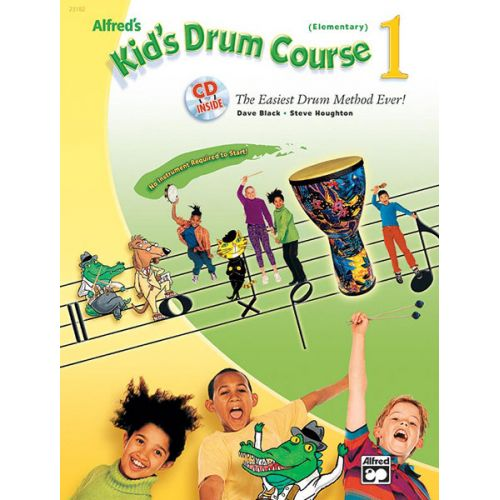 alfred publishing kids drum course cd percussion. Black Bedroom Furniture Sets. Home Design Ideas