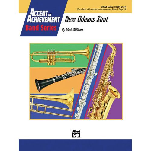 ALFRED PUBLISHING WILLIAMS JOHN - NEW ORLEANS STRUT - SYMPHONIC WIND BAND