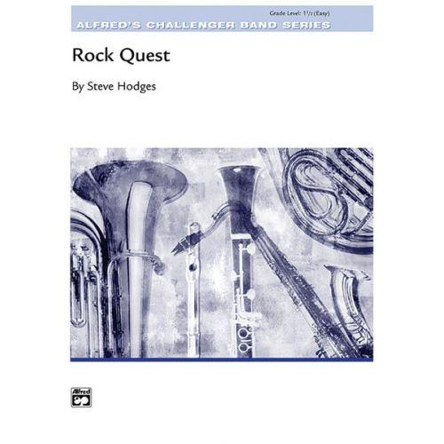 ALFRED PUBLISHING HODGES STEVE - ROCK QUEST - SYMPHONIC WIND BAND