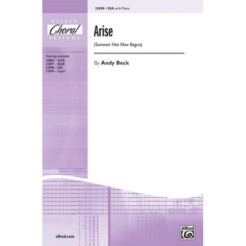 ALFRED PUBLISHING BECK - ARISE - UNISON, UPPER, EQUAL VOICES
