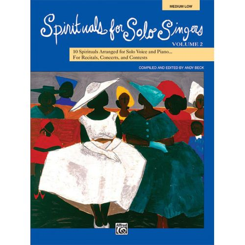 ALFRED PUBLISHING - SPIRITUALS SOLO SINGERS VOL2 - MEDIUM AND LOW VOICE