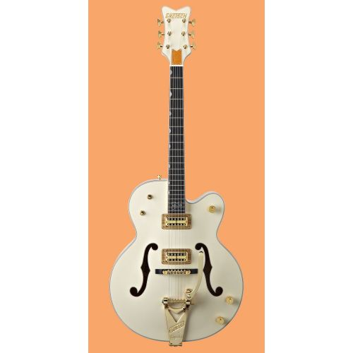 GRETSCH GUITARS G 61361958 STEPHEN STILLS WHITE FALCON AGED WHITE