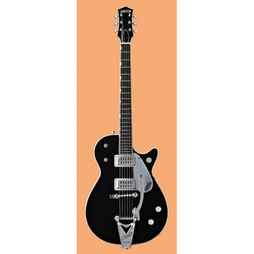 GRETSCH GUITARS G6128T DUO JET BIGSBY BLACK