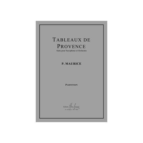 JOBERT MAURICE PAULE - TABLEAUX DE PROVENCE - SAXOPHONE ET ORCHESTRE