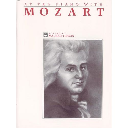 ALFRED PUBLISHING MOZART WOLFGANG AMADEUS - AT THE PIANO WITH MOZART - PIANO