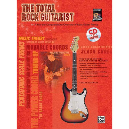 ALFRED PUBLISHING TOTAL ROCK GUITARIST + CD - GUITAR