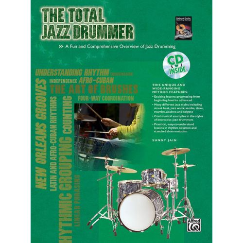 ALFRED PUBLISHING JAIN - TOTAL JAZZ DRUMMER + CD - DRUM