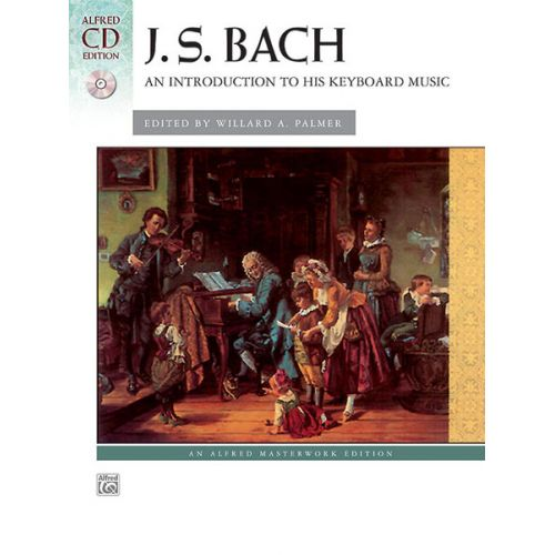 ALFRED PUBLISHING AN INTRODUCTION TO BACH + CD - PIANO SOLO