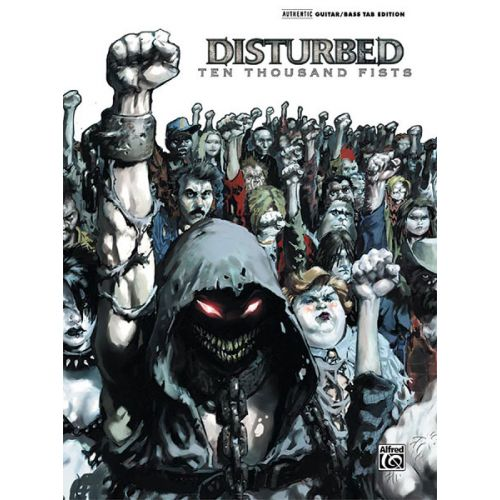 ALFRED PUBLISHING DISTURBED - TEN THOUSAND FISTS - GUITAR TAB