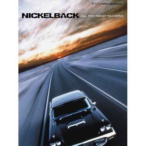ALFRED PUBLISHING NICKELBACK - ALL THE RIGHT REASONS - GUITAR TAB