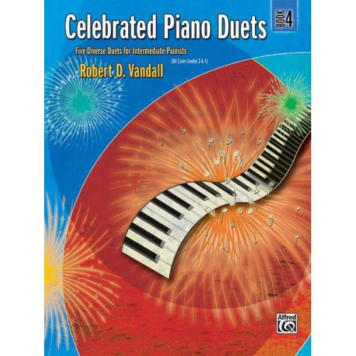 ALFRED PUBLISHING VANDALL ROBERT D. - CELEBRATED PIANO DUETS - BOOK 4 - PIANO DUET