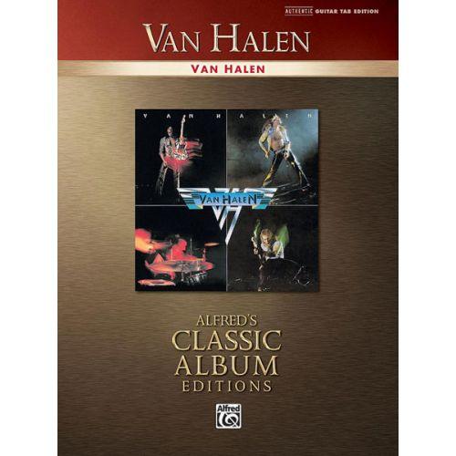ALFRED PUBLISHING VAN HALEN - VAN HALEN - GUITAR TAB