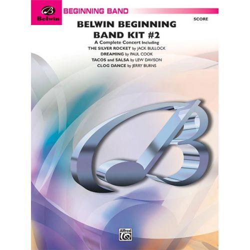 ALFRED PUBLISHING BELWIN BEGINNING BAND KIT #2 - SYMPHONIC WIND BAND