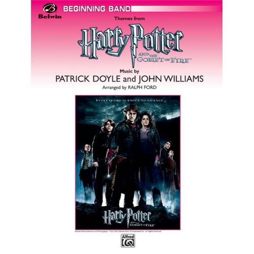 ALFRED PUBLISHING DOYLE PATRICK - HARRY POTTER - GOBLET OF FIRE - SYMPHONIC WIND BAND