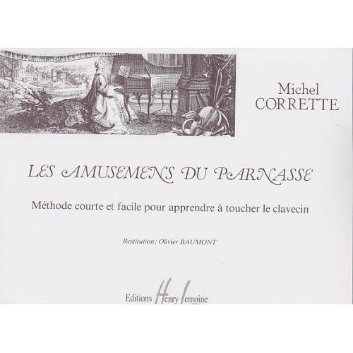 LEMOINE CORRETTE MICHEL - AMUSEMENS DU PARNASSE - CLAVECIN