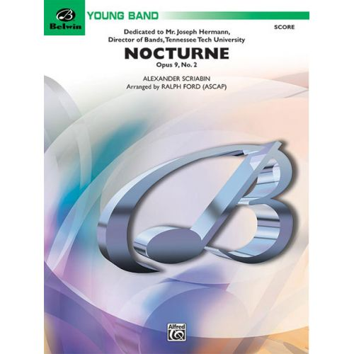 ALFRED PUBLISHING FORD RALPH - NOCTURNE - SYMPHONIC WIND BAND