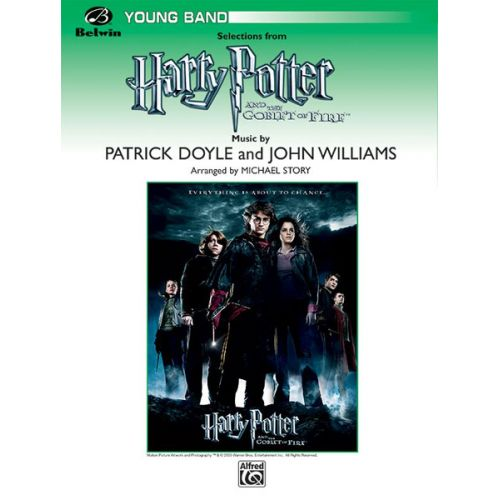 ALFRED PUBLISHING WILLIAMS JOHN - HARRY POTTER - GOBLET OF FIRE - C INSTRUMENTS
