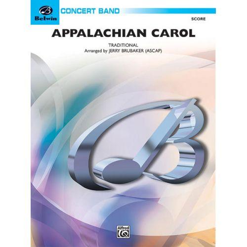 ALFRED PUBLISHING BRUBAKER JERRY - APPALACHIAN CAROL - SYMPHONIC WIND BAND