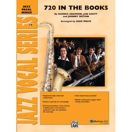 ALFRED PUBLISHING SAVITT - 720 IN THE BOOKS - JAZZ BAND